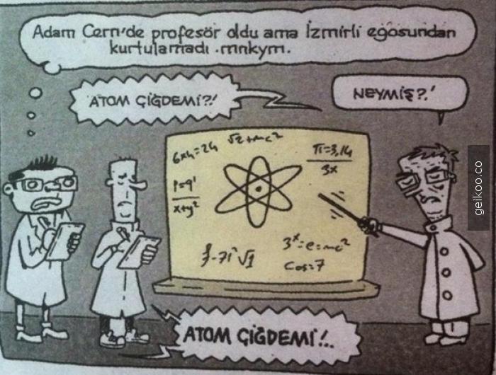 atom çiğdemi