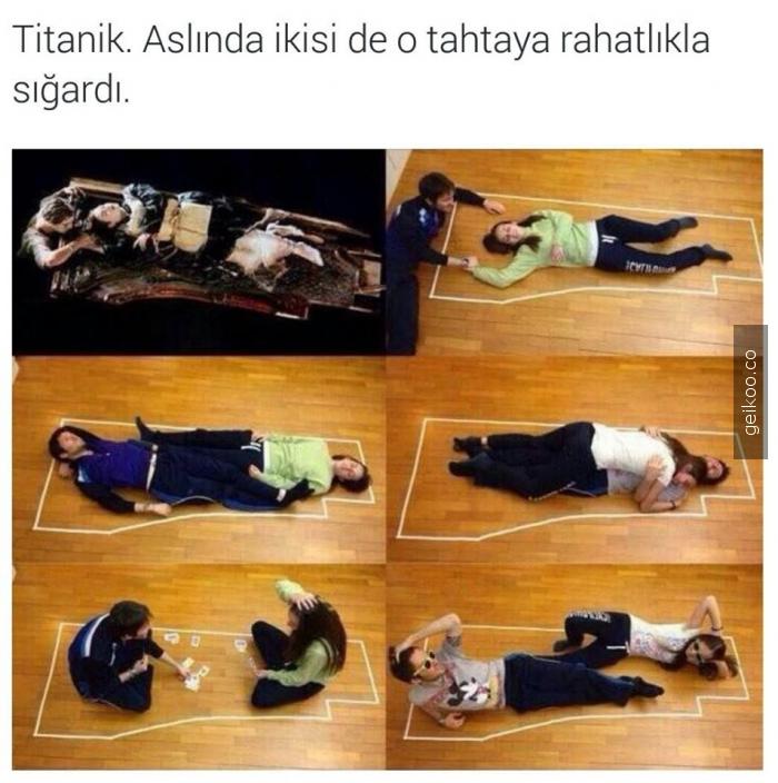 titanic aldatmacası
