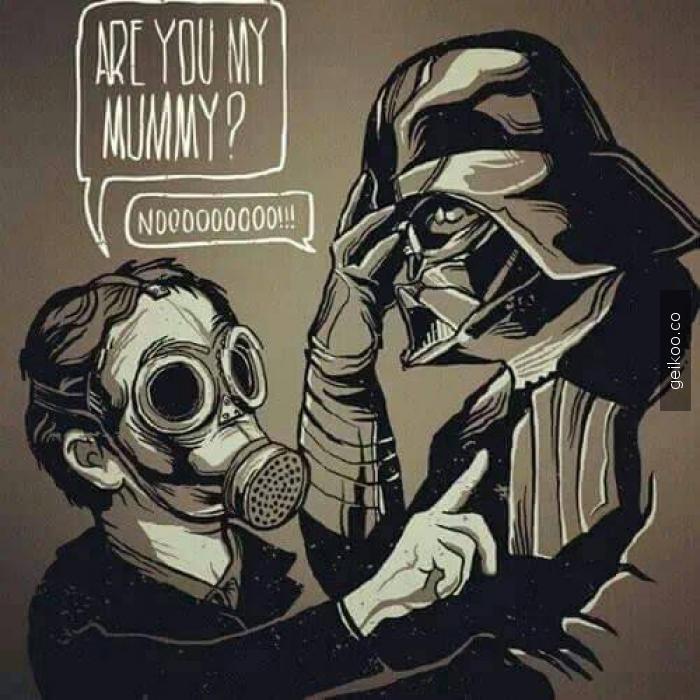 sen benim annem misin ?