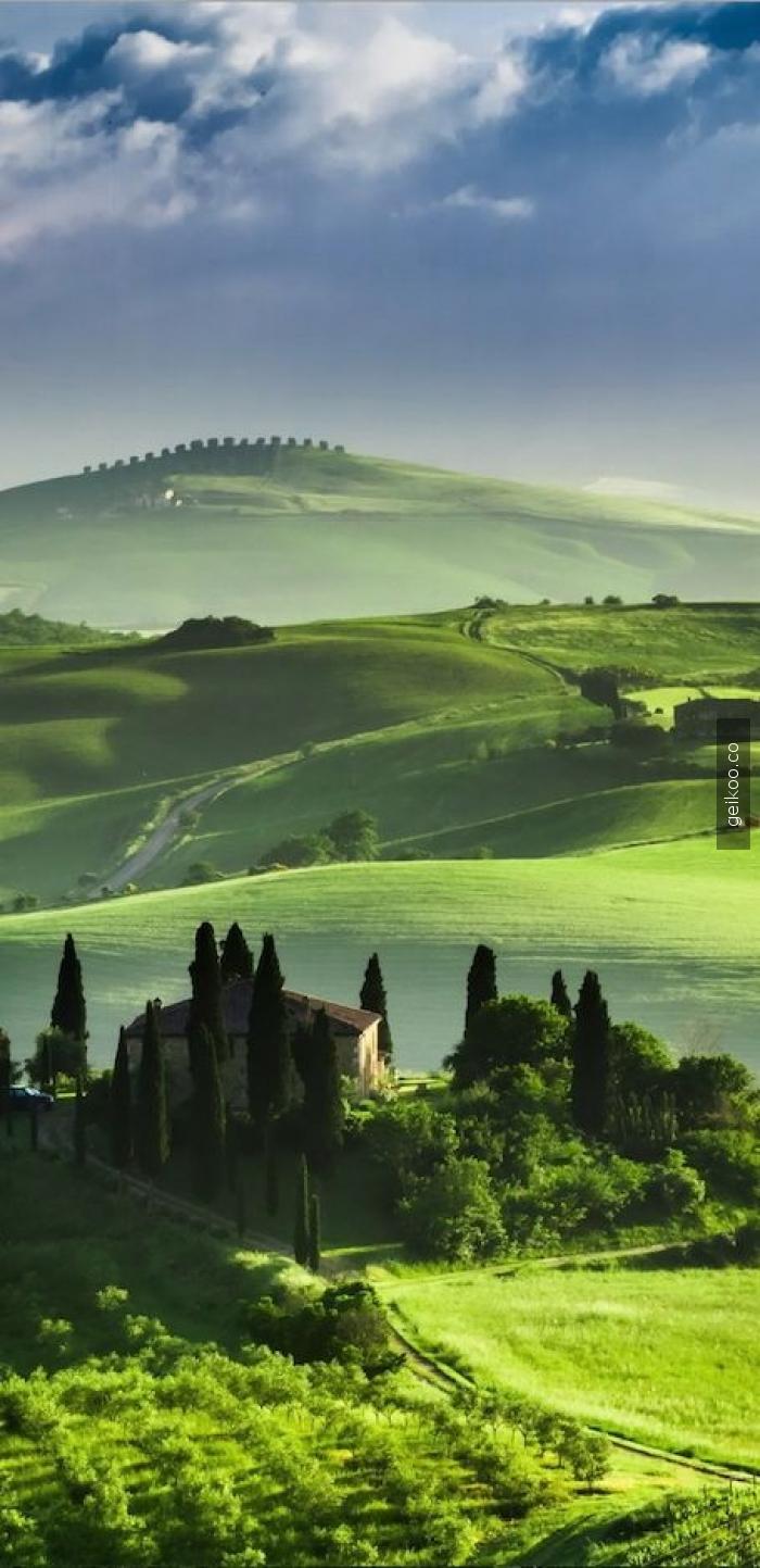 tuscany italya