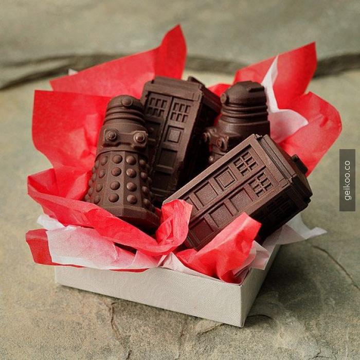 whovian çikolataları