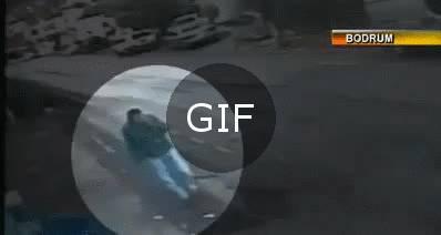 Uçurumdan aşağı düşmekten son anda kurtulan bebek