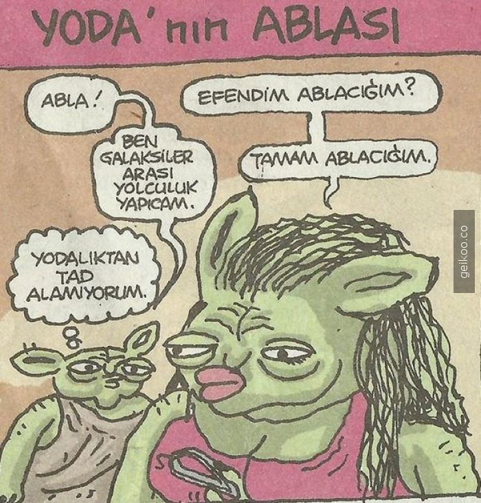 Yoda'nın ablası