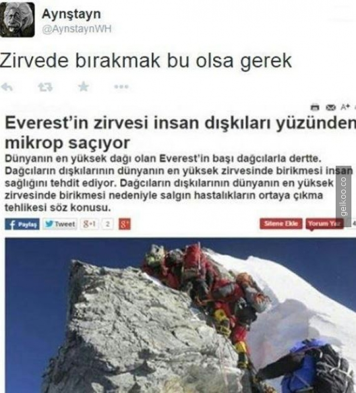 everest mikrop saçıyo