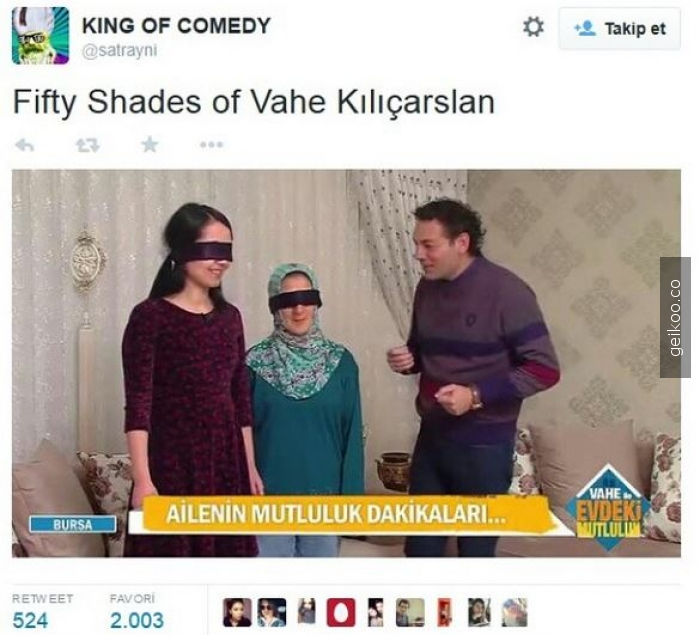 Fifty shades of vahe kılıçarslan