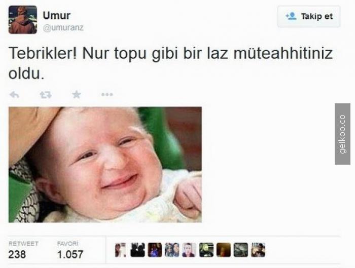laz mütehhit bebek