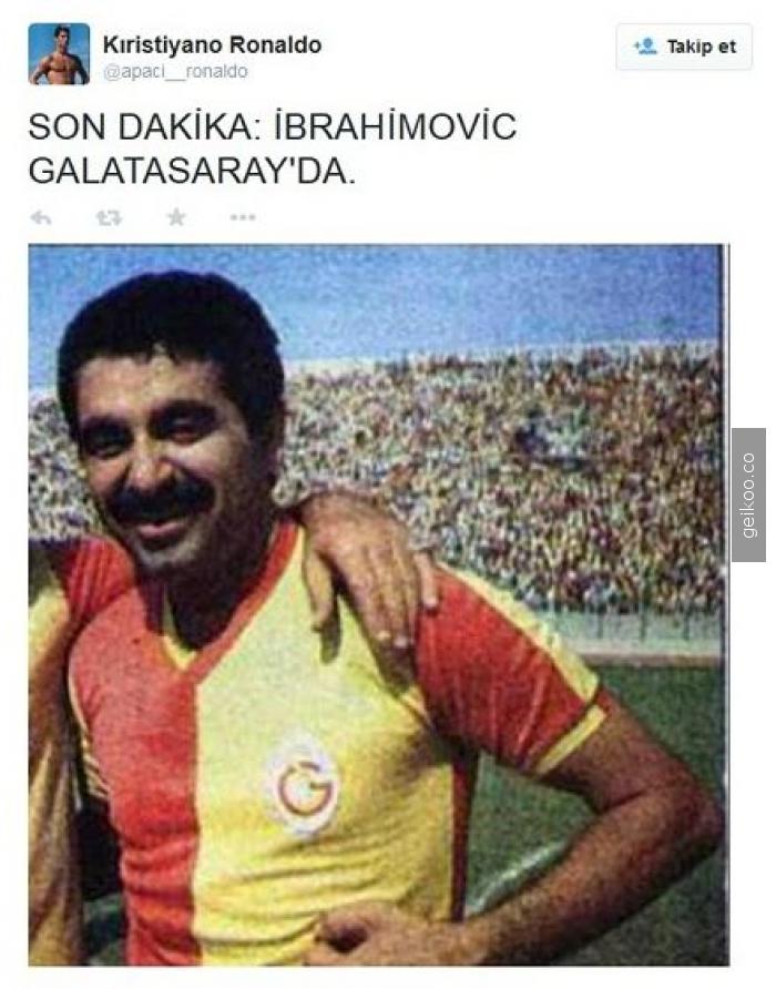 ibrahimoviç galatasarayda!!